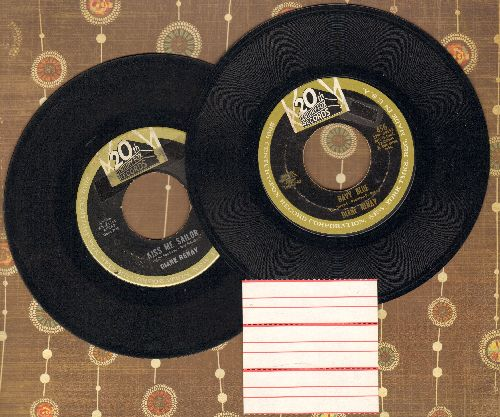 Renay, Diane - 2 for 1 Special: Navy Blue/Kiss Me Sailor (2 vintage first issue 45rpm records for the price of 1!) - VG7/ - 45 rpm Records