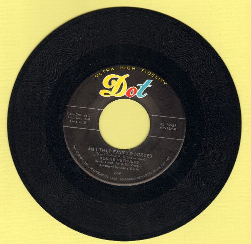 Reynolds, Debbie - Am I That Easy To Forget/Ask Me To Go Steady (ssol) - EX8/ - 45 rpm Records