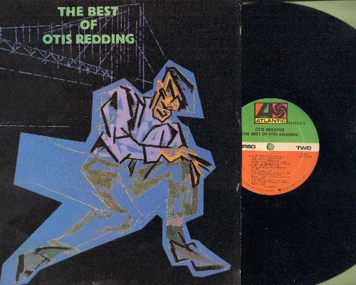 Redding, Otis - The Best Of: Respect, Satisfaction, (Sittin' On) The Dock Of The Bay, My Girl (vinyl STEREO LP record, 1980s issue of vintage recordings) - NM9/NM9 - LP Records