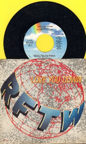 Ready For The World - Love You Down/Human Toy (with picture sleeve) - NM9/NM9 - 45 rpm Records