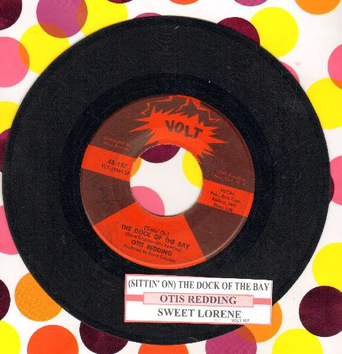 Redding, Otis - (Sittin' On) The Dock Of The Bay/Sweet Lorene (with juke box label) - VG7/ - 45 rpm Records
