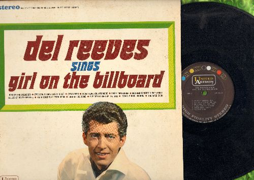 Reeves, Del - Girl On The Billboard: King Of The Road, The Race Is On, I've Got A Tiger By The Tail, Three Time Loser (vinyl STEREO LP record) - NM9/EX8 - LP Records