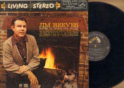Reeves, Jim - Songs To Warm Your Heart: Scarlet Ribbons, A Fool Such As I, Dear Heart And Gentle People, Am I Losing You? (Vinyl STEREO LP record) - NM9/VG7 - LP Records