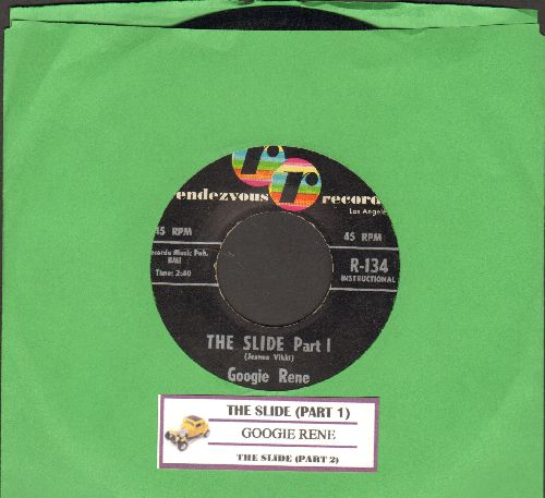 Rene, Googie - The Slide (Parts 1 + 2) (with juke box label) - EX8/ - 45 rpm Records