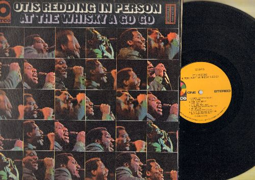 Redding, Otis - In Person At The Whisky A Go Go: R-E-S-P-E-C-T, Satisfaction, Papa's Got A Brand New Bag, Any Ole Way (Vinyl STEREO LP record) - EX8/VG7 - LP Records