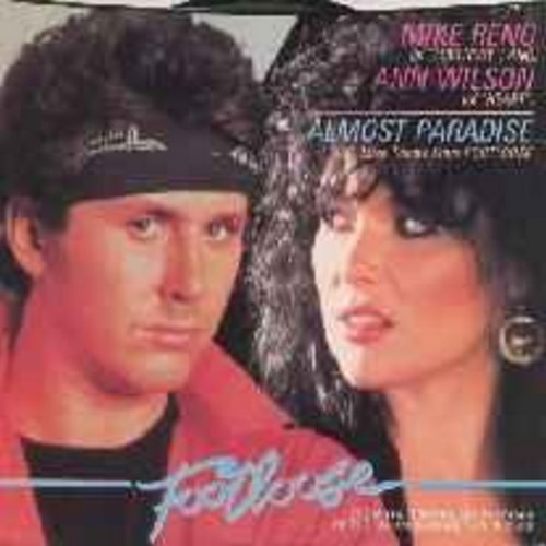 Reno, Mike & Ann Wilson - Almost Paradise (Love Theme From Footloose) (w/pic) - M10/EX8 - 45 rpm Records