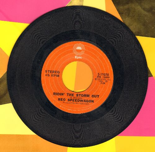 REO Speedwagon - Ridin' The Storm Out/Whiskey Night - EX8/ - 45 rpm Records