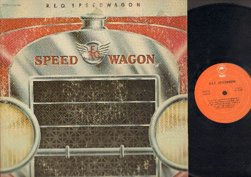 REO Spreedwagon - REO Speedwagon: Gypsy Woman's Passion, 157 Riverside Avenue, Anti-Establishment Man, Lay Me Down, Sophisticated Lady, Five Men Were Killed Today, Prison Women, Dead At Last (Vinyl LP Record) - NM9/VG7 - LP Records