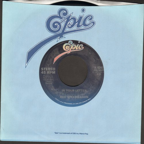 REO Speedwagon - In Your Letter/Shakin' It Loose  - NM9/ - 45 rpm Records
