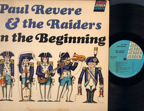 Revere, Paul & The Raiders - In The Beginning: Shake Rattle And Roll, Don't Be Cruel, Rinky Dink, Mojo Workout, Crisco (Vinyl MONO LP record) - EX8/VG7 - LP Records