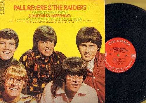 Revere, Paul & The Raiders - Something Happening: Love Makes The World Go Round, Happening '68, The Good Time (Vinyl STEREO LP record) - NM9/EX8 - LP Records