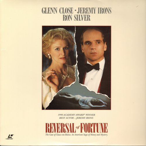 Reversal Of Fortune - Reversal Of Fortune - LASERDISC Version for Jeremy Irons' Oscar Winner (This is a LASERDISC, not any other kind of media!) - NM9/NM9 - LaserDiscs