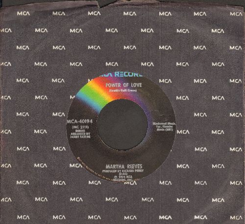 Reeves, Martha - Stand By Me/Power Of Love (with MCA company sleeve) - NM9/ - 45 rpm Records