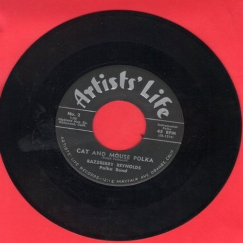Reynolds, Razzberry Polka Band - Cat And Mouse Polka/Rain Rain Polka - NM9/ - 45 rpm Records