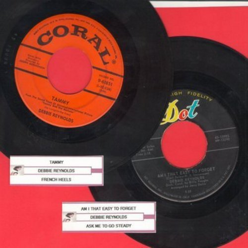 Reynolds, Debbie - 2 for 1 Special: Tammy/Am I That Easy To Forget? (2 vintage first issue 45rpm records with juke box labels for the price of 1!) - VG7/ - 45 rpm Records