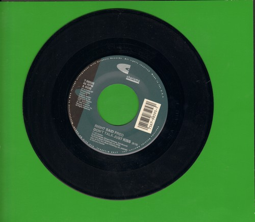 Right Said Fred - Don't Talk Just Kiss (7 inch UK version + Dance Mix) - NM9/ - 45 rpm Records