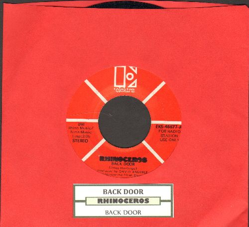 Rhinoceros - Back Door (double-A-sided DJ advance pressing with juke box label) - EX8/ - 45 rpm Records