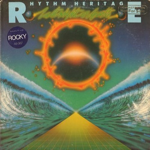 Rhythm Heritage - Last Night On Earth: Theme From Rocky, Disco Queen, Theme From Lipstick, Angry World (Vinyl LP record, DJ advance pressing) - M10/EX8 - LP Records