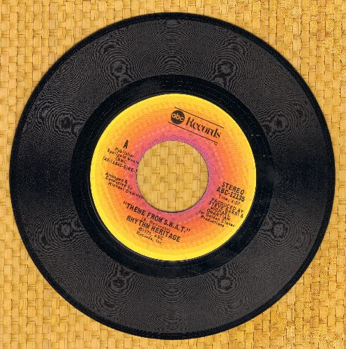 Rhythm Heritage - Theme From S.W.A.T./I Wouldn't Treat A Dog (The Way You Treated Me) (with ABC company sleeve) - M10/ - 45 rpm Records