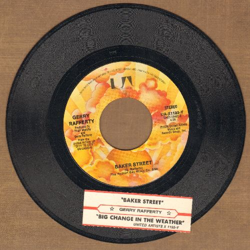 Rafferty, Gerry - Baker Street/Big Change In The Weather (with juke box label) - EX8/ - 45 rpm Records