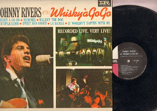 Rivers, Johnny - Whisky A Go Go: Memphis, Twist And Shout, La Bamba (Recorded live at the Whisky A Go Go in Hollywood) - EX8/EX8 - LP Records