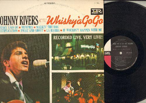 Rivers, Johnny - Johnny Rivers at the Whisky a GoGo: Twist Ans Shout, La Bamba, Memphis, Walkin' The Dog (Vinyl MONO LP record) - EX8/VG6 - LP Records