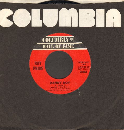Price, Ray - Danny Boy/I'm Still Not Over You (double-hit re-issue) - NM9/ - 45 rpm Records