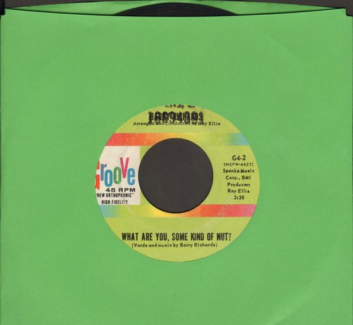 Richards, Barry - What Are You, Some Kind Of Nut?/Last Night A Heart Was Broken (wol) - VG7/ - 45 rpm Records