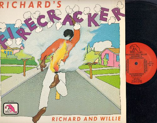 Richard & Willie - Richard's Firecracker (vinyl LP record) - NM9/NM9 - LP Records