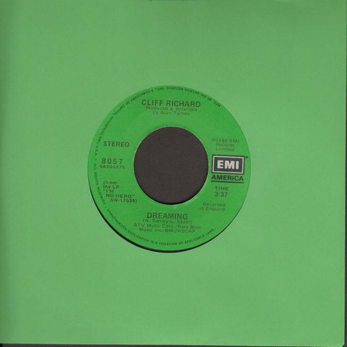 Richard, Cliff - Dreaming (short and long version) - VG7/ - 45 rpm Records