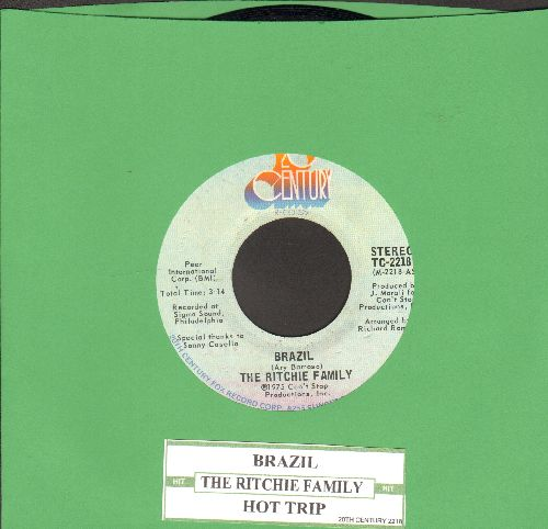 Ritchie Family - Brazil/Hot Trip (with juke box label) - EX8/ - 45 rpm Records