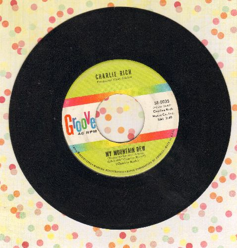 Rich, Charlie - My Mountain Dew/The Ways Of A Woman In Love - EX8/ - 45 rpm Records
