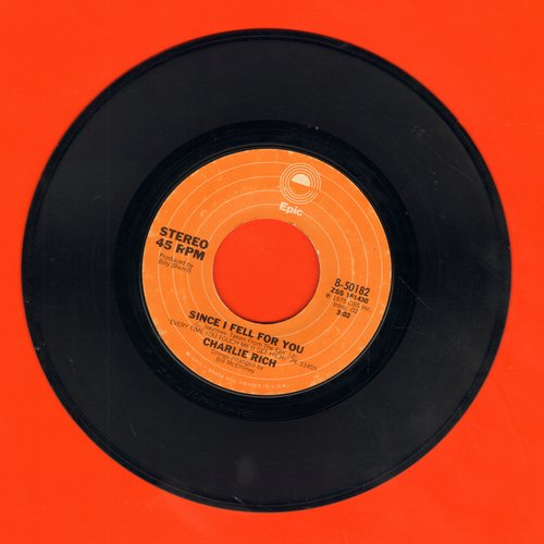 Rich, Charlie - Since I Fell For You/She - EX8/ - 45 rpm Records