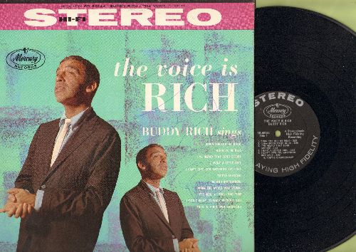 Rich, Buddy - The Voice Is Rich: I've Heard That Song Before, Me And My Shadow, It's Been A Long Long Time, Born To Be Blue (Vinyl STEREO LP record) - NM9/NM9 - LP Records