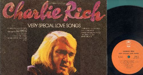 Rich, Charlie - Very Special Love Songs: A Very Special Love Song, Why Don't We Go Somewhere And Love, Take Time To Love, A Satisfied Man, A Field Of Yellow Daisies, Why, Oh Why, Almost Persuaded, He Follows My Footsteps, Stay, There Won't Be Anymore, Pre