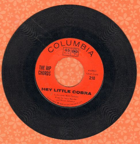 Rip Chords - Hey Little Cobra/The Queen  - VG7/ - 45 rpm Records