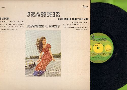 Riley, Jeannie C. - Jeannie: Good Enough To Be Your Wife, Oh Singer, Roses And Thorns, Light Your Light (And Let It Shine), If You Could Read My Mind (Vinyl STEREO LP record) - EX8/EX8 - LP Records