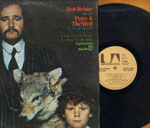 Reiner, Rob - Rob Reiner narrates Peter & The Wolf - A Contemporary Version in a New Translation by Carl Gottlieb and Rob Reiner (vinyl STEREO LP record) - NM9/EX8 - LP Records
