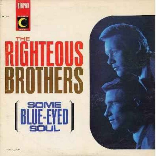 Righteous Brothers - Some Blue-Eyed Soul: Fannie Mae, Something's Got A Hold On Me, This Little Girl Of Mine, Night Owl, For Your Love (Vinyl LP record) - VG7/EX8 - LP Records