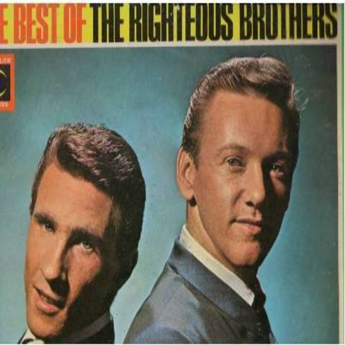 Righteous Brothers - The Best Of: Georgia On My Mind, For Your Love, My Prayer, Bye Bye Love, This Little Girl Of Mine (Vinyl STEREO LP record) - VG7/VG7 - LP Records