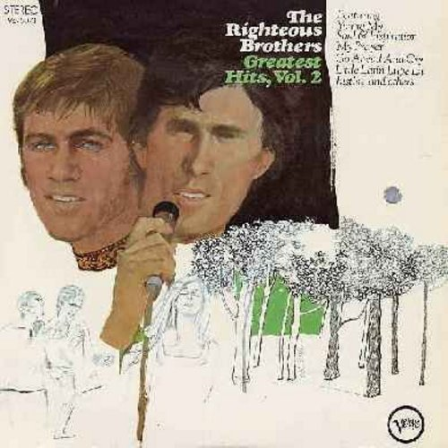 Righteous Brothers - Greatest Hits Vol. 2: You're My Soul & Inspiration, My Prayer, Go Ahead And Cry, Loving You, Bye Bye Love (Vinyl STEREO LP record) - NM9/NM9 - LP Records