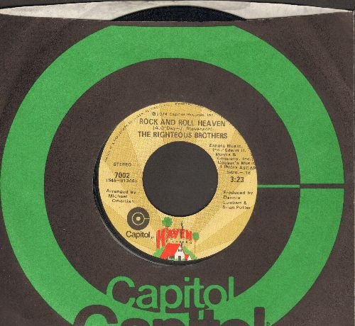 Righteous Brothers - Dream On/Dr. Rock And Roll (with Capitol company sleeve) - EX8/ - 45 rpm Records