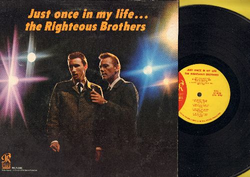 Righteous Brothers - Just Once In My Life: Unchained Melody, You'll Never Walk Alone, Guess Who?, The Great Pretender, You Are My Sunshine (Vinyl MONO LP record) - EX8/EX8 - LP Records