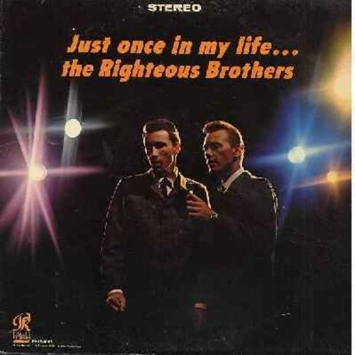 Righteous Brothers - Just Once In My Life: Unchained Melody, You'll Never Walk Alone, Guess Who?, The Great Pretender, You Are My Sunshine (Vinyl MONO LP record) - VG7/VG7 - LP Records