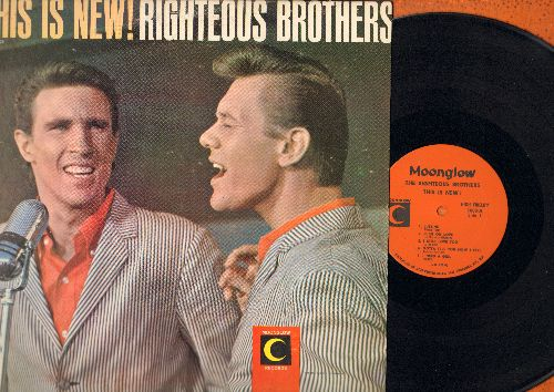 Righteous Brothers - This Is New!: Cryin' Blues, There She Goes, You Can Have Her, At My Front Door, I Need A Girl (Vinyl MONO LP record) - EX8/VG7 - LP Records