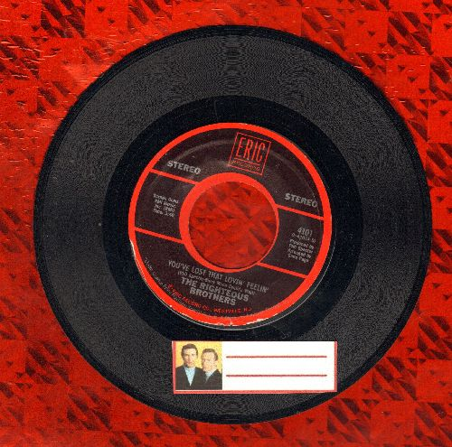 Righteous Brothers - You've Lost That Lovin Feelin'/(You're My) Sould And Inspiration (double-hit re-issue) - VG7/ - 45 rpm Records