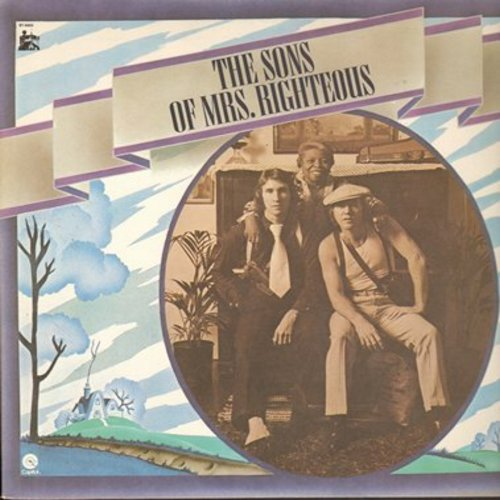 Righteous Brothers - The Sons Of Mrs. Righteous: Young Blood, Nobody But You, Substitute, High Blood Pressure, Just Another Fool (Vinyl STEREO LP record) - NM9/NM9 - LP Records