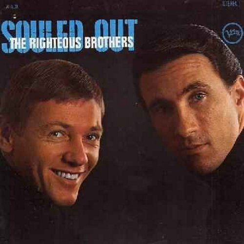 Righteous Brothers - Souled Out: Without You I'd Be Lost, Been So Nice, It's Up To You, So Many Lonely Nights Ahead, You Bent My Mind (Vinyl STEREO LP record) - M10/EX8 - LP Records