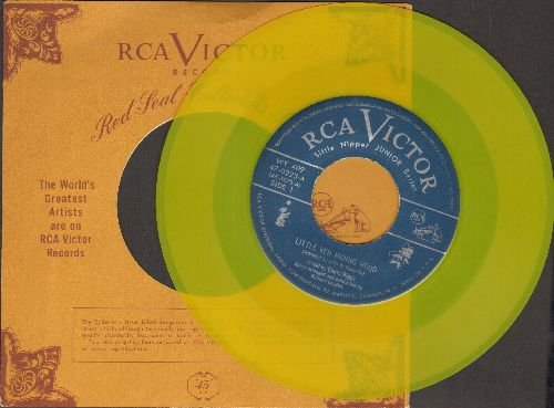 Riggs, Glenn - Little Red Riding Hood/The Ginger Bread Boy (RARE Yellow Label pressing with RCA company sleeve) - EX8/ - 45 rpm Records