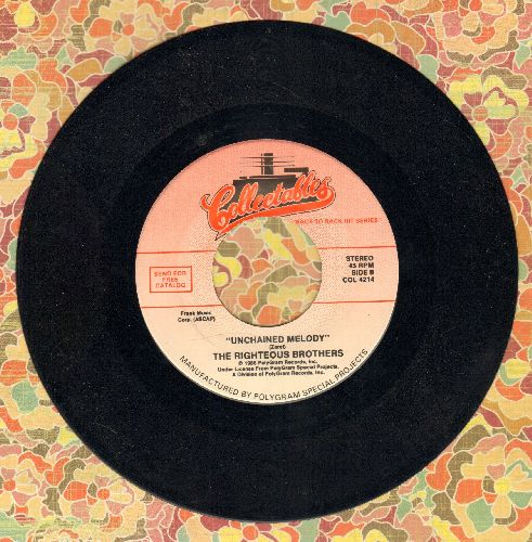 Righteous Brothers - Unchained Melody/You've Lost That Lovin' Feeling (double-hit re-issue) - VG7/ - 45 rpm Records